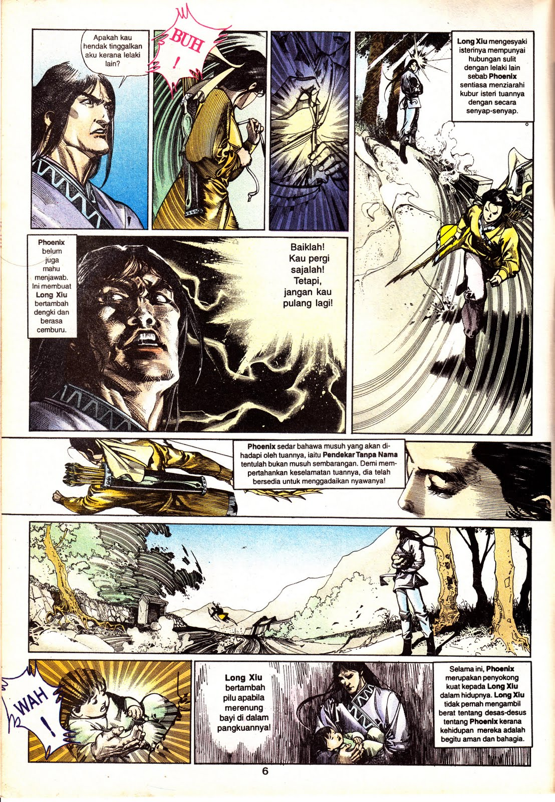 Page 1:: pedang setiawan:: chapter 131:: fungwan online comic.