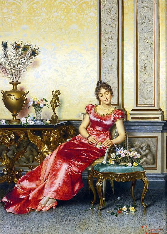 Vittorio Reggianini - The Basket of Flowers