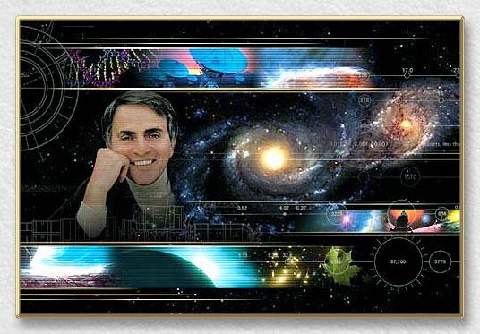 Carl Sagan : Todos sus libros y su última entrevista