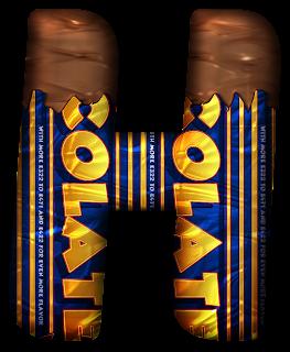 Abecedario de Chocolatina. Chocolate Alphabet.
