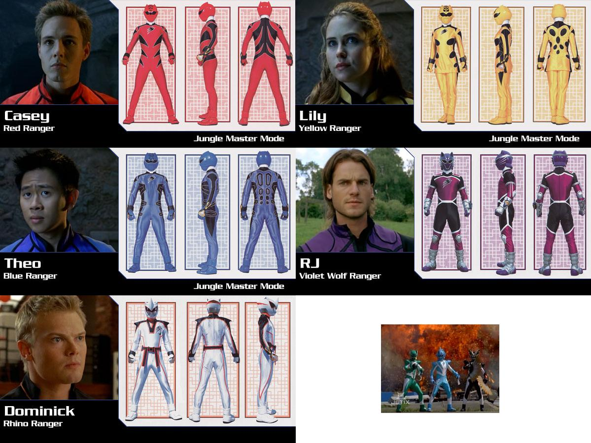 The x database some things that i want to see on super - Power rangers megaforce jungle fury ...