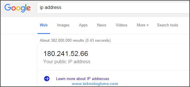 Perbedaan Alamat IP Publik dengan Alamat IP Pribadi