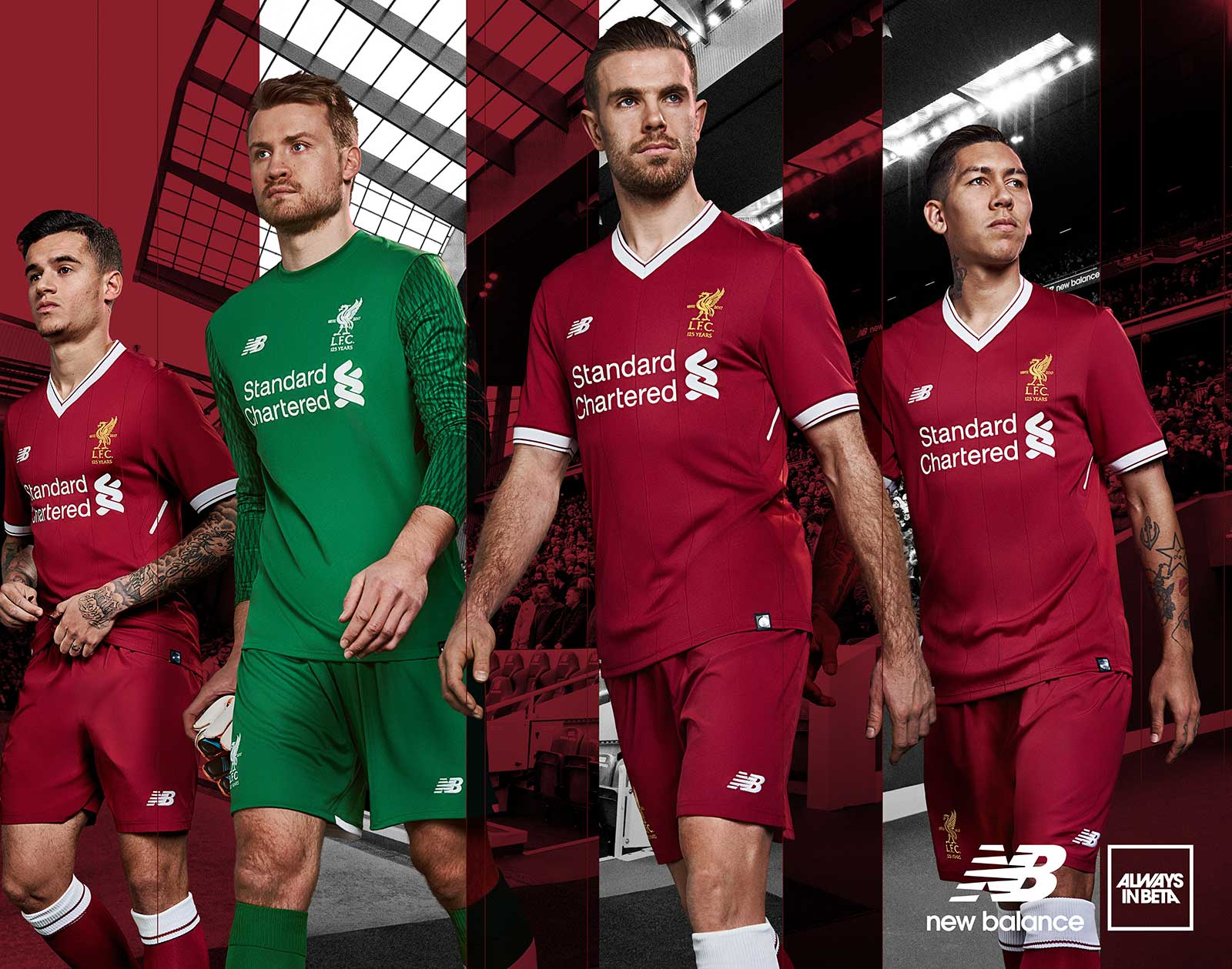 74cbdabfa Liverpool release £20 version of 2017 18 home kit with different ...