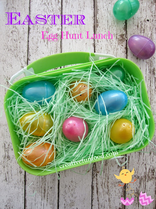 Creative Food: Easter Egg Hunt Lunch