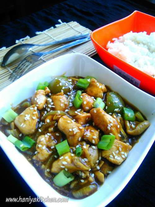 resep chicken yakiniku enak lezat