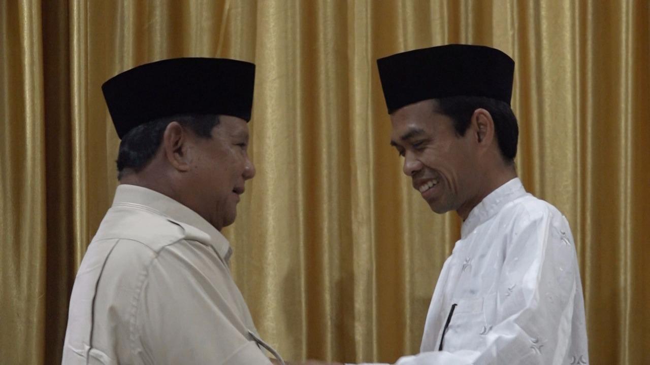 NCID: Pertemuan UAS dan Prabowo Tsunami Politik Bagi Jokowi