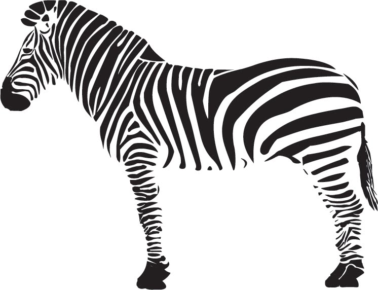 Le blog notes de la mansarde un dr le de z bre vectoriel - Zebre a dessiner ...