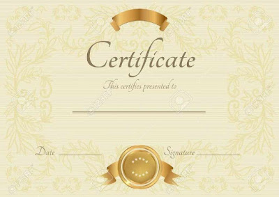 Editable Certificate Of Completion Templates Cfart