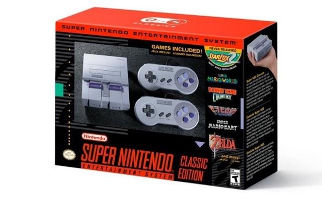 Nintendo anuncia SNES Classic com 20 jogos clássicos e um inédito