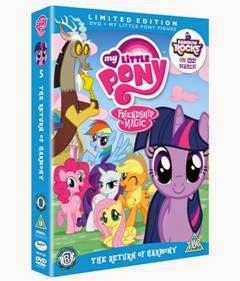 , My Little Pony Friendship is Magic – The Return of Harmony DVD Review