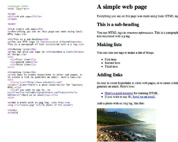 A Basic Web Page - Kpoyagahack  Best Blog To Learn All -3873