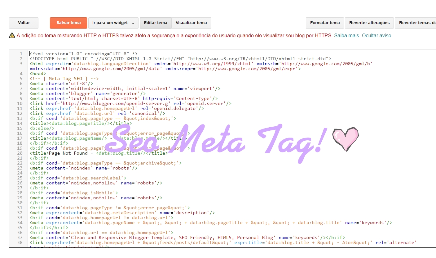 Meta Name Keywords Como Preencher O Xxxx Do Seo Meta Tags Sweet Magic