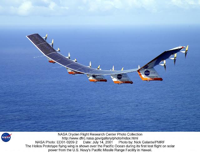 NASA's Helios Prototype July 14, 2001