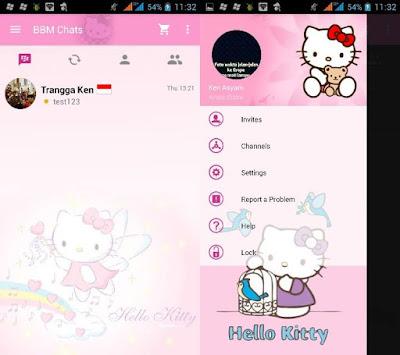 BBM MOD Hello Kitty (clone)