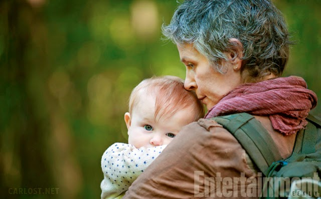 Carol en la quinta temporada The Walking Dead