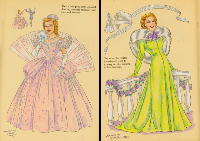 Coloring Book, Vintage Coloring, Classic Hollywood