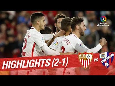 SD Huesca vs Sevilla 2-1 All Goals & Highlights Laliga 2019