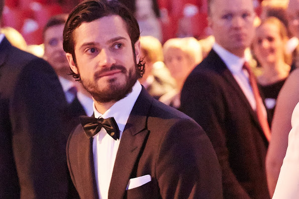 Prince Carl Philip And Princess Sofia Attended Swedish Sports Gala