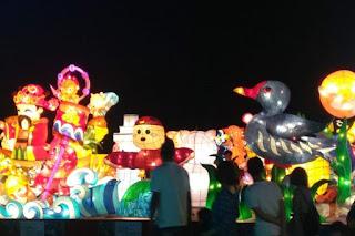 Warna-warni Penutupan Festival Lampion Taiwan 2019 - PJTKI RESMI