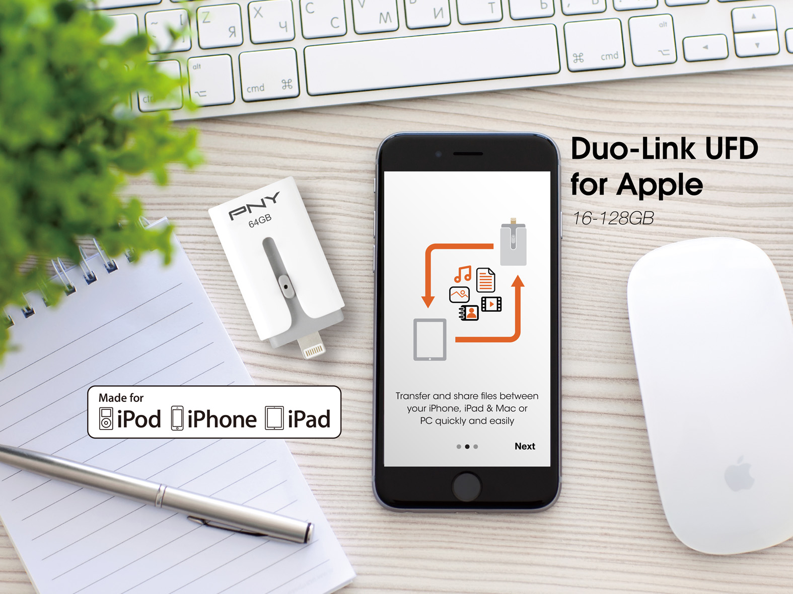 PNY DUO-Link UFD for Apple DUO-Link M