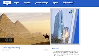 pembuatan website travel