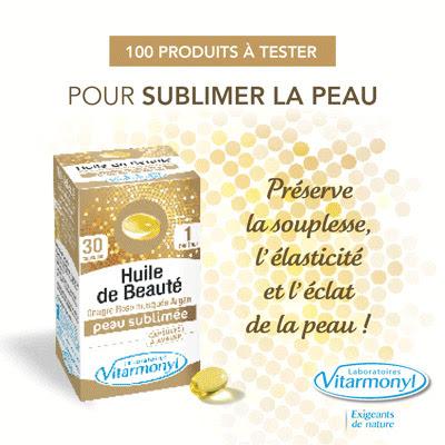 Testeur De Produit 100 Huiles de Beauté capsules de Vitarmonyl !
