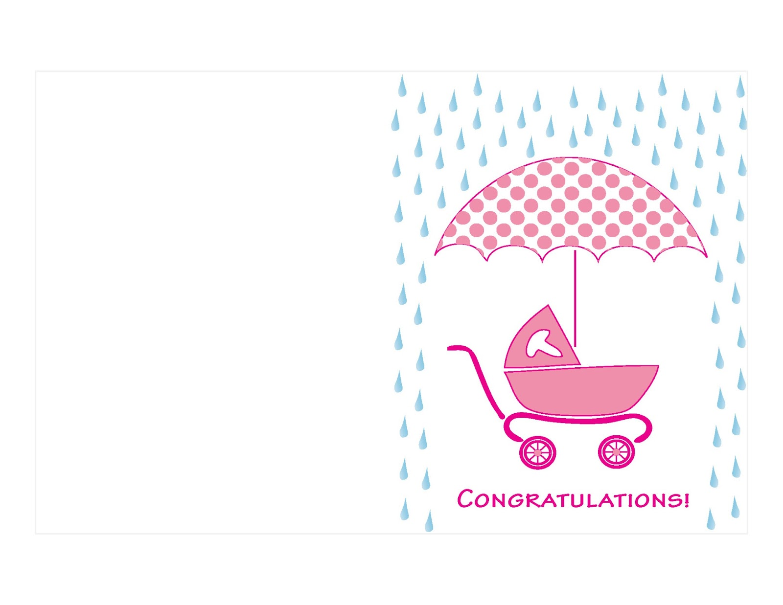 Printable Baby Shower Card