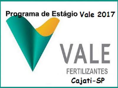 Vale Fertilizantes oferece vagas de estágio em Cajati
