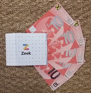 Picture of Morrisons gift vouchers bought at a discount from Zeek