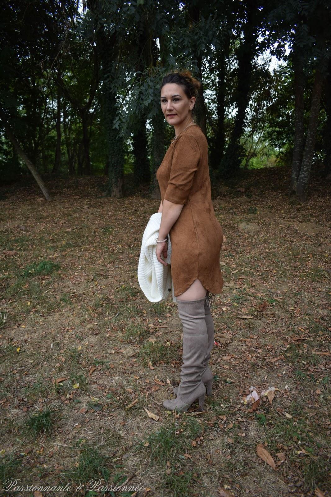 robe peau de pêche