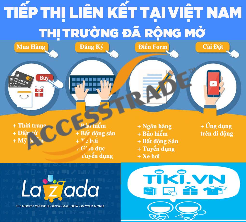 Tiếp thị liên kết tại Việt Nam: Thị trường đã rộng mở