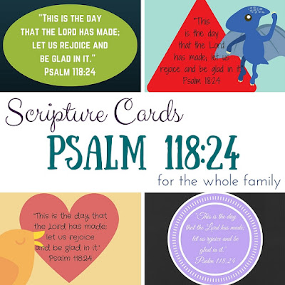 15 fantastic verses to memorize with your family!  Printable Scripture cards for everyone!  This is great for everyone to memorize verses at the same time!