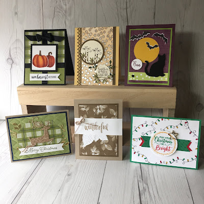 Stampin' Up! Fall Occasions Card Class