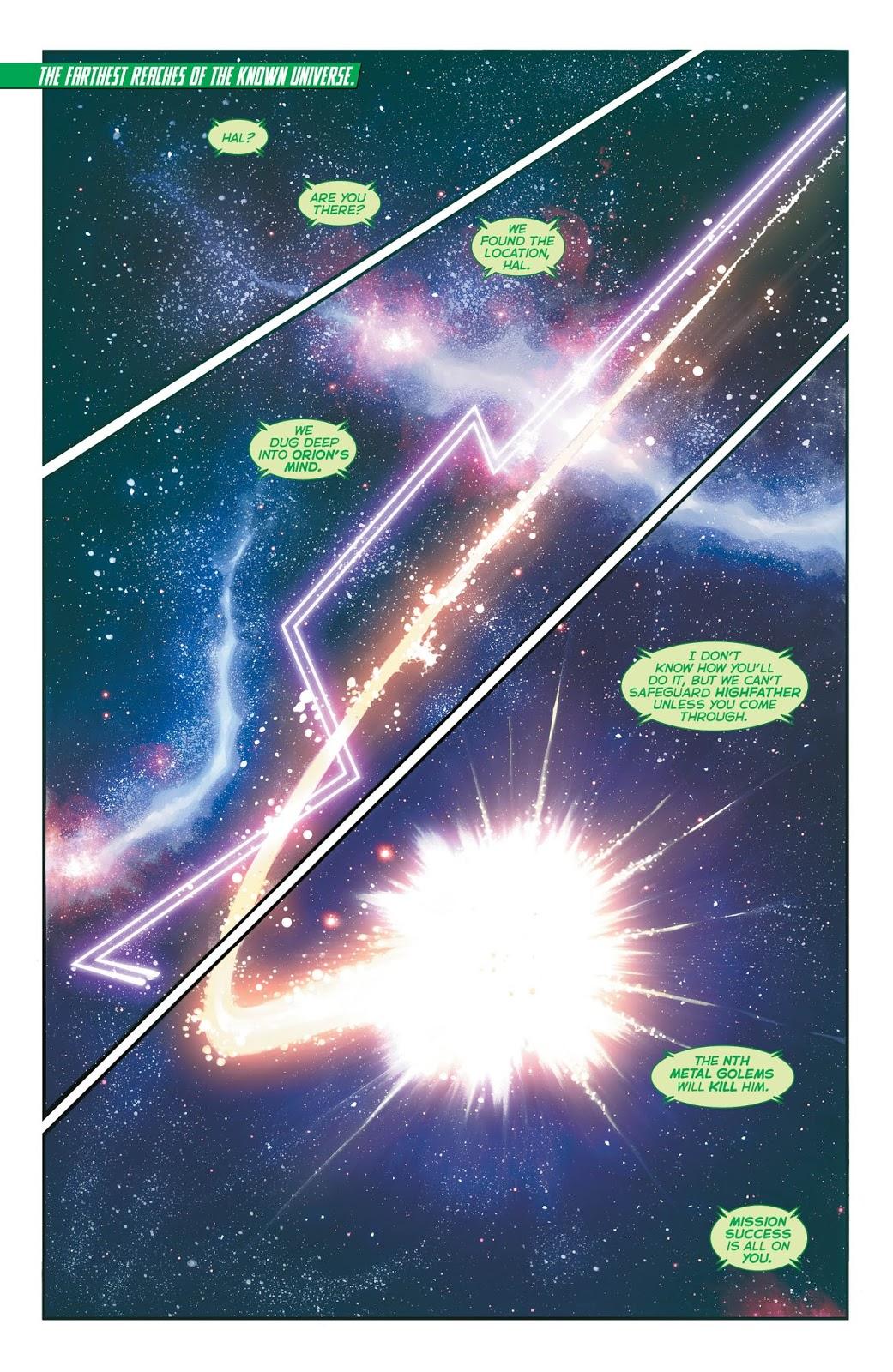 Weird Science DC Comics: Hal Jordan and the Green Lantern Corps #28