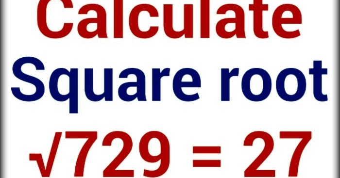 square root in few seconds - Maths Tricks in Hindi - Learn