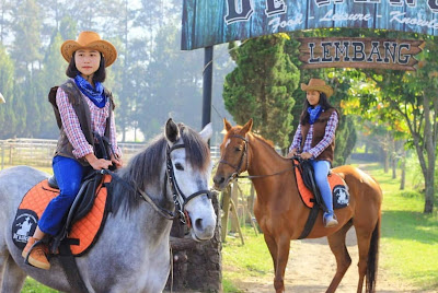 Wisata De Ranch Lembang, Sensasi Liburan Ala Cowboy
