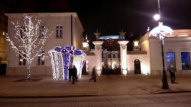 warszawa w grudniu
