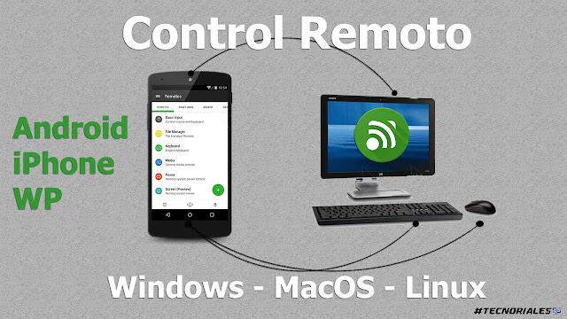 control remoto PC con android
