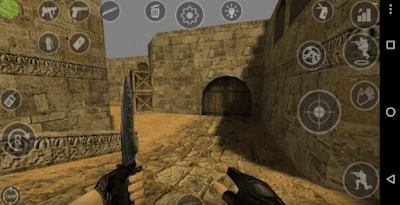 Xash3D Counter Strike Launcher Gameplay Screenshot
