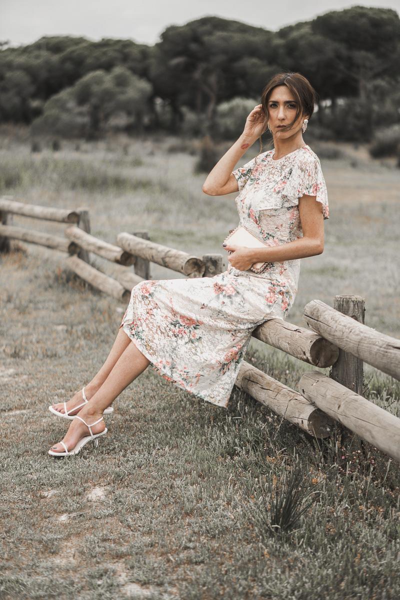 vestido de flores para invitada