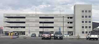 Cape Liberty Cruise Terminal, Bayonne, New Jersey, Parking Garage