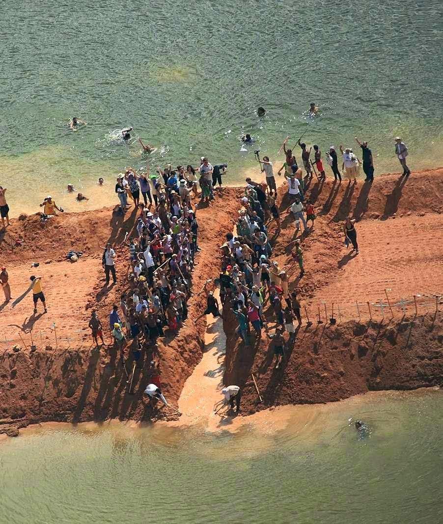 Movimento Pare Belo Monte. Sabotagens frequentes, matreiricies juridicas e ideologia neocomunista verde