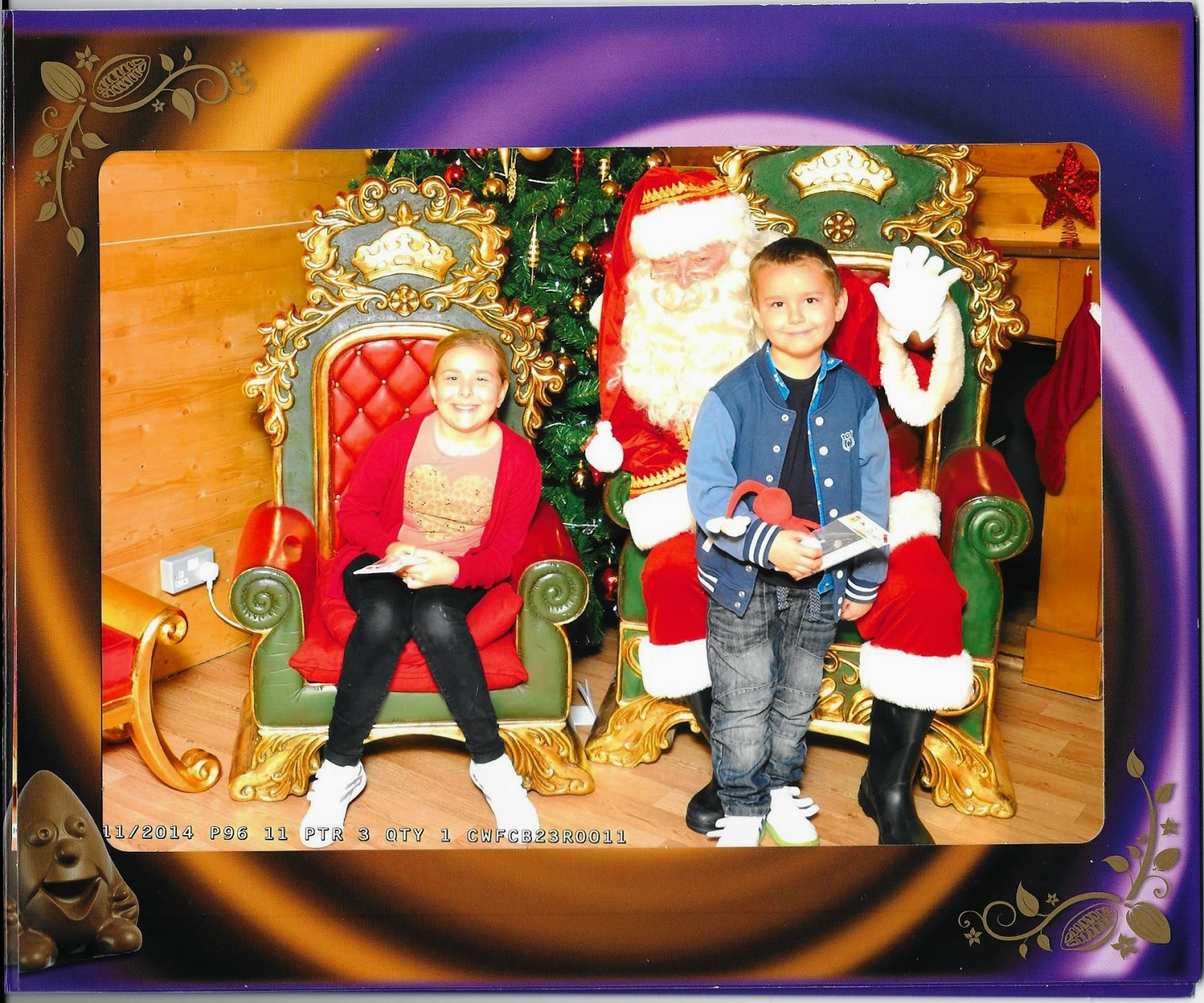 Big Boy and Top Ender with Santa