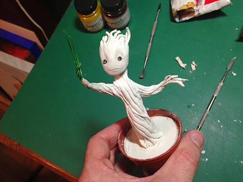 Nearly finished Groot