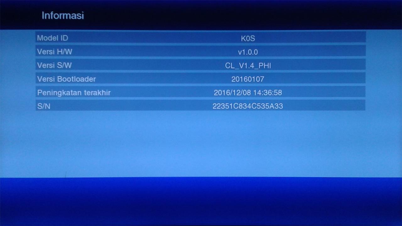 Firmware LGSat Infinite HD Upgrade Terbaru