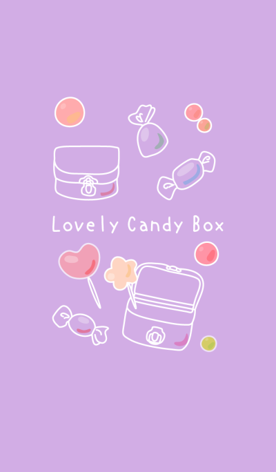 Lovely Candy Box (purple)