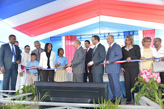 SPM: Presidente inaugura centro educativo nivel básico de 27 aulas