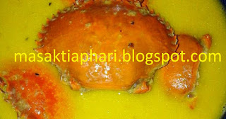resep kepiting masak santan