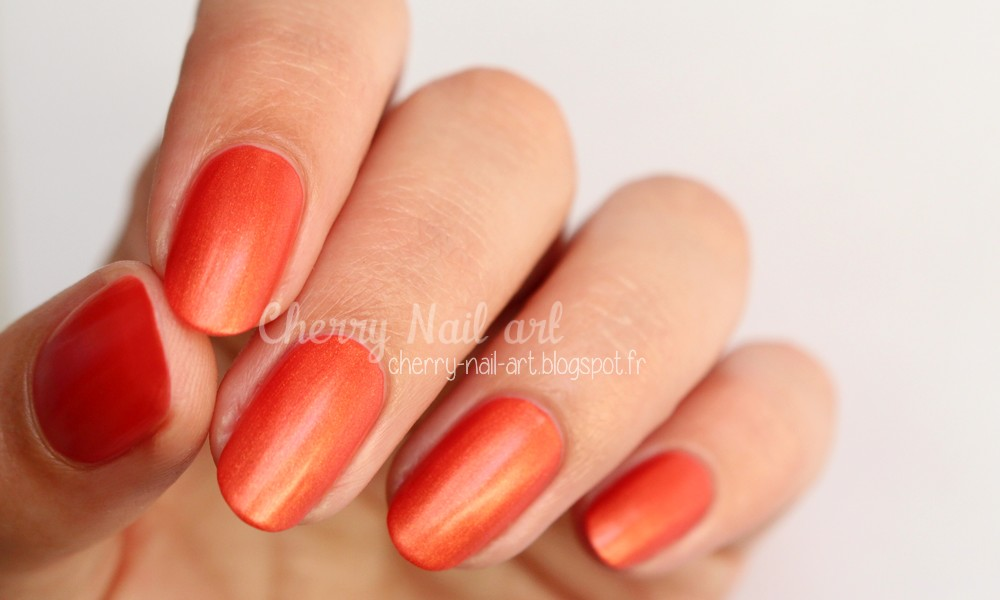 vernis lm cosmetic n°3 Pequina collection Satin