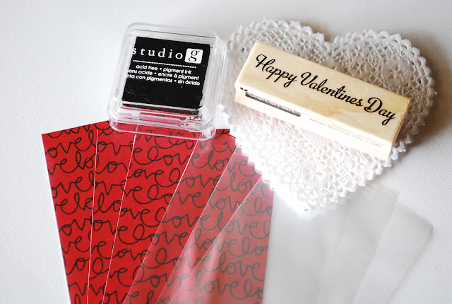 valentine's day treat wrapping idea